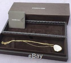 Roberto Coin Capri Plus Neckwear encrusted with diamonds 18yw di 1.65/dbl CHN