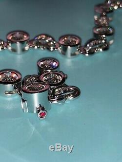 Roberto Coin Cento Amuleto Diamond Tennis bracelet 4.5 Ctw 18K WG MSRP $28,000