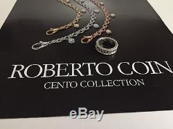 Roberto Coin Cento Florentine Eternity Ring- 1.35CTW Size 6.5