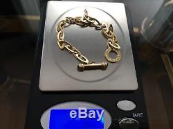 Roberto Coin Chic & Shine Bracelet 18K Yellow Gold Retail $2400 + Tax