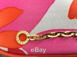 Roberto Coin Chic & Shine Bracelet 18K Yellow Gold Retail $2400 + Tax