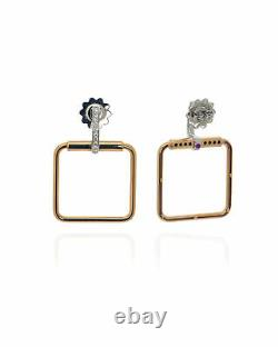 Roberto Coin Classica Parisienne 18k Gold Diamond 0.23ct Earrings 8882484AHERX