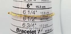 Roberto Coin Diamond 18K Yellow Gold Parisienne Bracelet