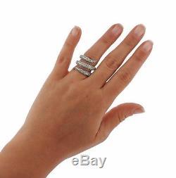 Roberto Coin Diamond 18k Gold Cobra Snake Wrap Ring