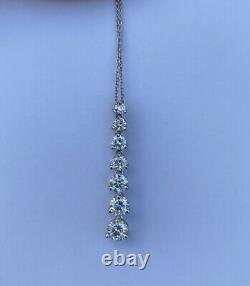 Roberto Coin Diamond 18k White Gold Pendant Necklace 1.4ct G/VS2 Videos