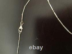 Roberto Coin Diamond Chic And Shine Oval Pendant 18K Yellow Gold Diamond