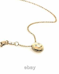 Roberto Coin Emoji 18k Yellow Gold Necklace 7771795AY180