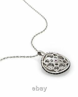 Roberto Coin Fantasia 18k White Gold Diamond 0.62ct Necklace 488110AWCHBD