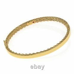 Roberto Coin Golden Gate 18k Yellow Gold Bracelet 7771362AYBA0
