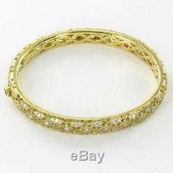 Roberto Coin Granada Bracelet 0.60cts Diamonds 18k Yellow Gold NEW $11500