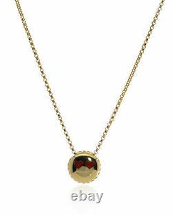 Roberto Coin Love Emoji 18k Yellow Gold Necklace 7771793AY180