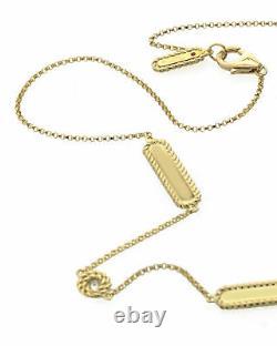 Roberto Coin New Barocco 18k Gold Diamond(0.38ct Twd)Necklace 7771314AY35X