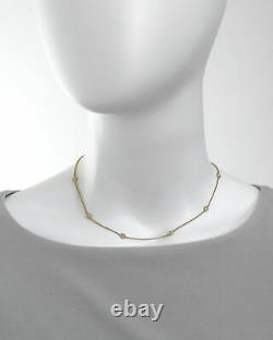 Roberto Coin New Barocco 18k Yellow Gold Diamond 0.43ct Necklace 7771333AYCHX