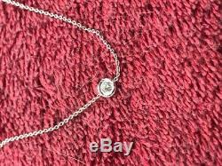 Roberto Coin One Diamond Station Necklace