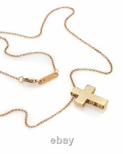 Roberto Coin Pois Moi 18k Rose Gold Necklace 7771291AXCH0