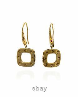 Roberto Coin Pois Moi 18k Yellow Gold Earrings 777933AYER00