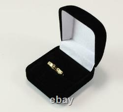 Roberto Coin Pois Moi 18k Yellow Gold Wedding Band Style Ring Size 6.5/t53/uk-n