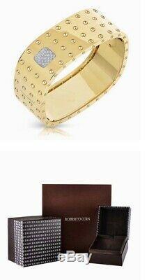 Roberto Coin Pois Moi 4 Row Diamond Bracelet