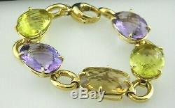 Roberto Coin Precious Multi-Stone & 18K Yellow Gold Bracelet