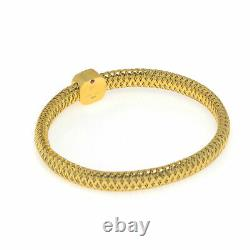 Roberto Coin Primavera 18k Yellow Gold And Mother Of Pearl Bracelet 5574015AYBAM