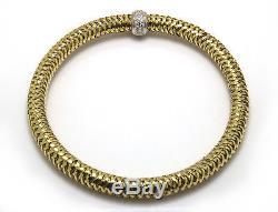 Roberto Coin Primavera Bracelet in 18K with Diamonds