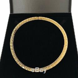 Roberto Coin Princess Satin Finish Narrow Collar, Fleur de Lis Diamond Necklace