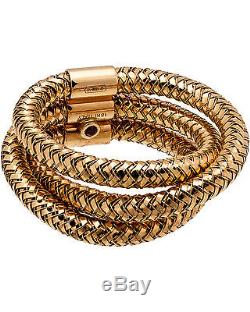 Roberto Coin Rose Gold Triple Row Primavera Ring