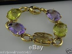Roberto Coin Semi-Precious Multi-Stone & 18K Yellow Gold Bracelet