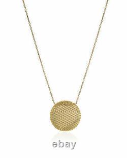 Roberto Coin Silk 18k Yellow Gold Pendant Necklace 7771020AY180