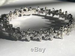 Roberto Coin Star Diamond Line Bracelet 18K WG 7.40 CTW