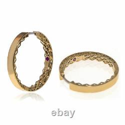 Roberto Coin Symphony 18k Yellow Gold Earrings 7771589AYER0