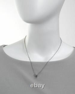 Roberto Coin Womens Symphony Pois Moi 18k White Gold Necklace 7771358AWCH0