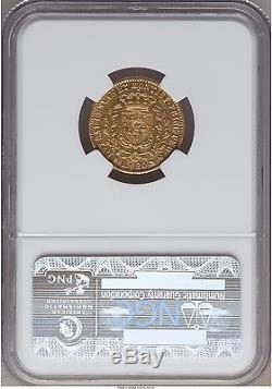 Sardinia 1828 Gold 20 Lire Coin C#106.1 Ngc Au Details