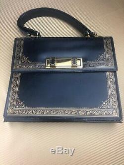Scuola del Cuoio Vintage Leather School Of Italy Handbag With Coin Purse