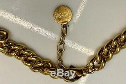 Versace Medusa Coin Necklace in Gold
