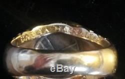 Vintage Bulgari Ancient Coin Ring 18k Yellow GoldGallia-Massalia 385-220 bc