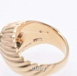 Vintage Bvlgari 18K Yellow Gold Ancient Coin Monete Ring